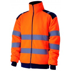 VESTE-POLAIRE-HV ORANGE...