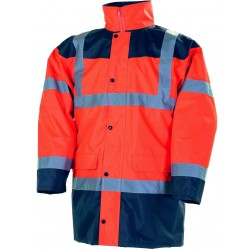 PARKA HV ORANGE 4 EN 1,S A...
