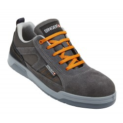 Basket GRIS/ORANGE BOCA S1P