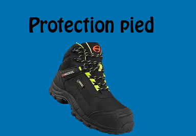 Protection pied